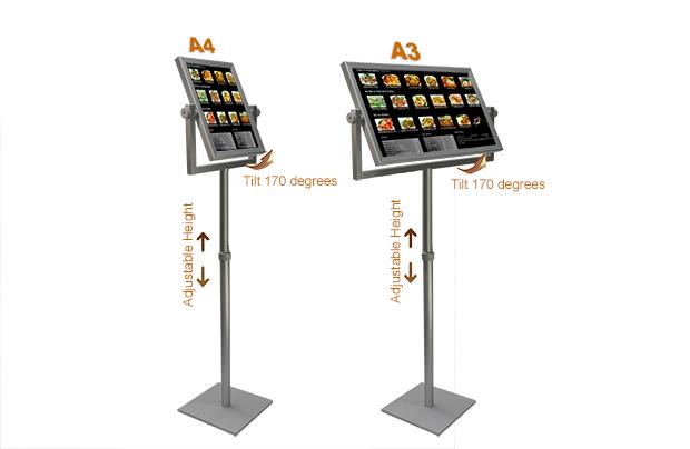 Exhibition Stand Lighting Australia : Snap frames poster holders light boxe hangers