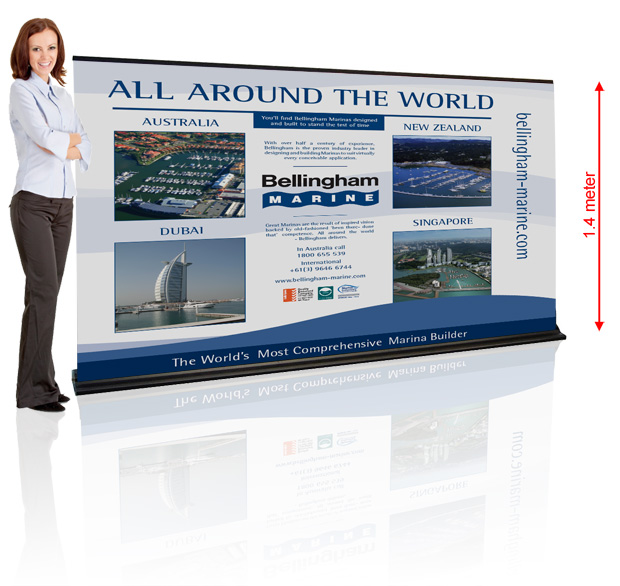 Portable Exhibition Quotes : Exhibition stand and marketing material quotes